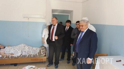 С рабочим визитом город Хасавюрт посетил Абдулмажид Маграмов