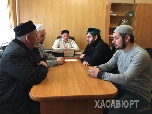 Заседание рабочей группы при Совете имамов города Хасавюрт