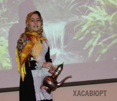 Счастливой поре детства посвятили литературную гостиную в школе Хасавюрта