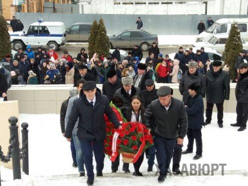 В Хасавюрте отметили день 28 –й годовщины вывода Советских войск из Афганистана