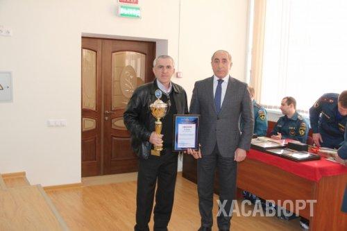 Хасавюртовская служба спасателей признана лучшей в Дагестане