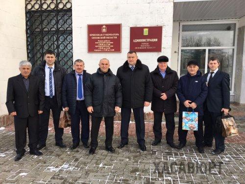 Хайбулла Умаров в составе делегации РД посетил Орловскую область