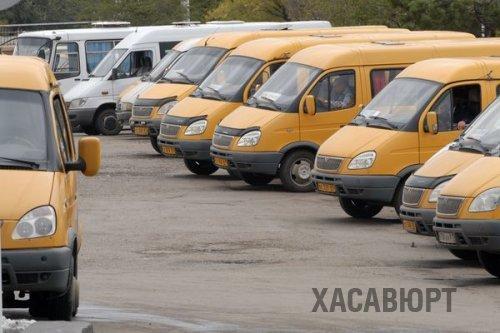 В Хасавюрте запущена новая линия движения маршрутного такси №20