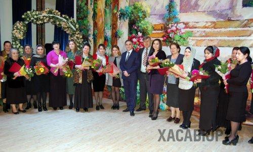 В Хасавюрте отметили международный женский день