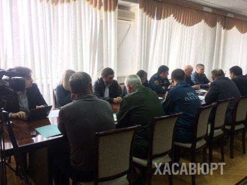 Заседание Антитеррористической комиссии состоялось в администрации Хасавюрта