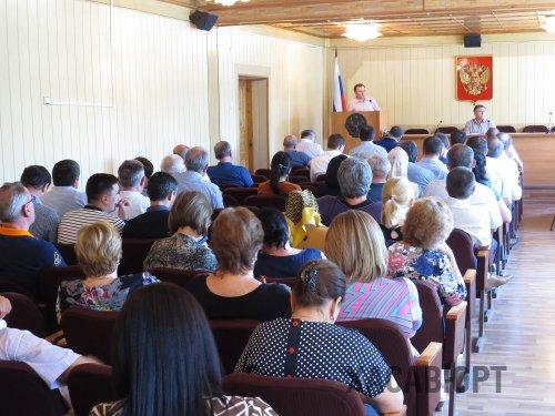 Отчет о работе отдела статистики заслушали на собрании актива города