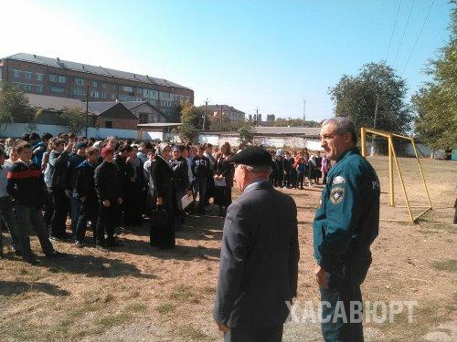 Сотрудники Управления ГО ЧС и ПБ провели уроки безопасности в школах города