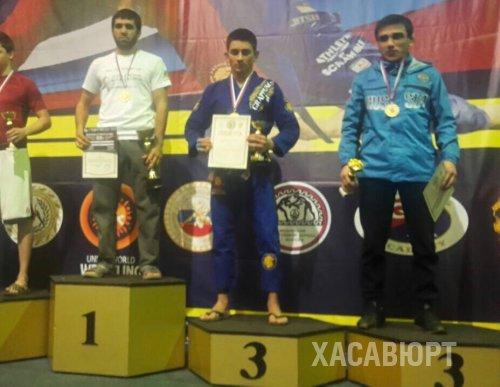 Юный спортсмен из Хасавюрта Зайирби Гасанов завоевал золотую медаль на Кубке России