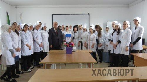 Встреча с молодыми избирателями прошла в медколледже Хасавюрта