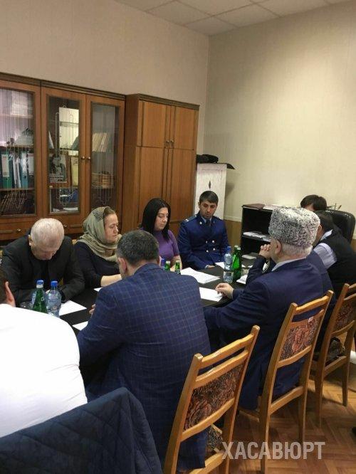В Хасавюрте состоялся круглый стол на тему противодействия коррупции