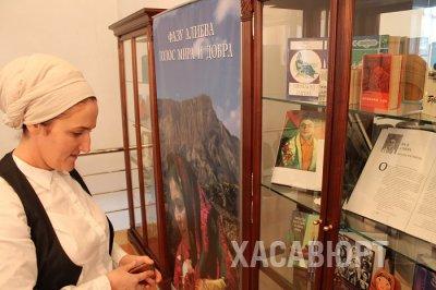 Литературное творчество и общественная деятельность Фазу Алиевой представлены на выставке в библиотеке Хасавюрта