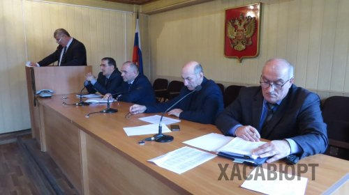 В Хасавюрте провели итоговое заседание по вопросам проведения выборов Президента РФ