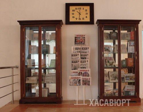 К 100-летию газеты «Дагестанская правда» в библиотеке Хасавюрта открылась выставка