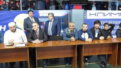 В Хасавюрте спортивная общественность отметила День единения народов Белоруссии и России