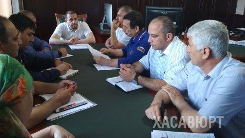Заседание комиссии по чрезвычайным ситуациям состоялось в мэрии Хасавюрта