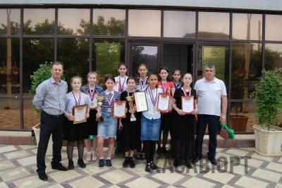 Юные баскетболистки Хасавюрта пополнили копилки наградами двух министерств
