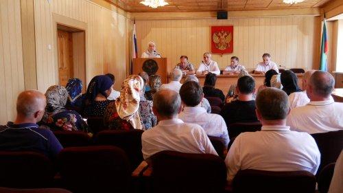 Общественники Хасавюрта рассмотрели план работы городского родительского комитета