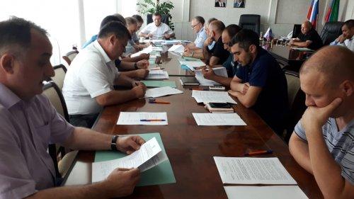 Заседание Антитеррористической комиссии состоялось в Хасавюрте
