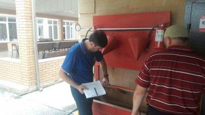 В Хасавюрте провели профилактическую работу при угрозе возникновения ЧС в духовных учреждениях