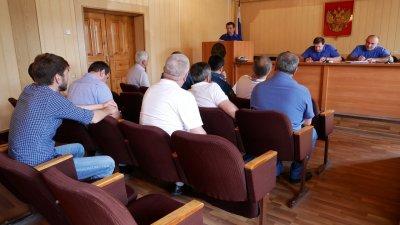 В Хасавюрте прошло заседание КЧС