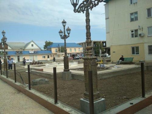 В Хасавюрте активно реализуется программа «Формирования современной городской среды»