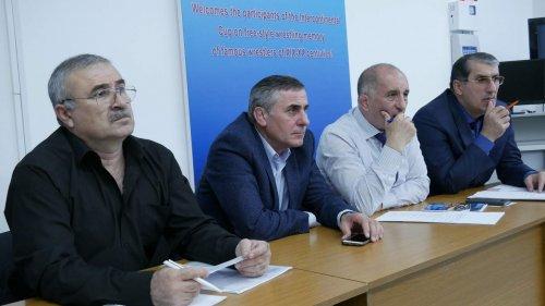 Вопросы организации юбилейного турнира по вольной борьбе обсудили в Хасавюрте