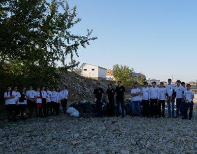 Участники «Чистых игр» собрали 1,5 тонны мусора в Хасавюрте