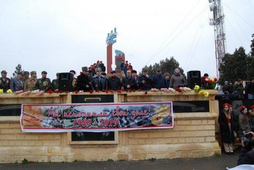 Митинг памяти к 30 летию вывода из Афганистана прошел в Хасавюрте