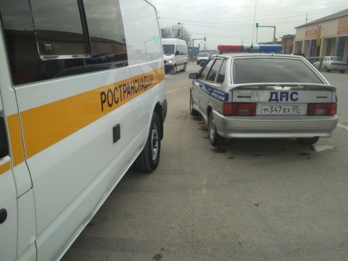 Рейдовые мероприятия по выявлению фактов нарушения в области транспортной безопасности в Хасавюрте