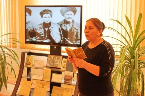 В библиотеке Хасавюрта отметили юбилей Абдуллы Магомедова