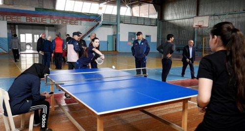 В Хасавюрте прошел чемпионат города по настольному теннису