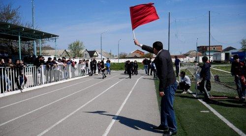 Первенство по легкой атлетике среди учащихся городских школ прошло в Хасавюрте