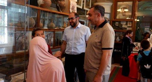 Музей Хасавюрта принял гостей из летних школьных лагерей