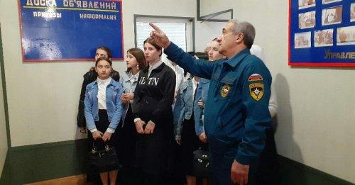 В рамках месячника гражданской обороны в Управлении ГО ЧС и ПБ прошла экскурсия для студентов профессионально-педагогического колледжа