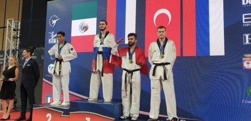Спортсмен из Хасавюрта стал чемпионом Европы по паратхэквондо