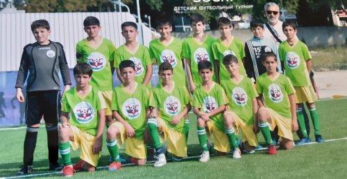 Детская футбольная команда «Победа» из Хасавюрта стала финалистом Всероссийского турнира в Сочи