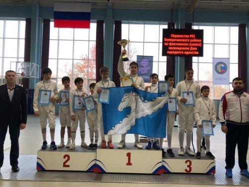 Юные фехтовальщики Хасавюрта выиграли серебро на Всероссийском турнире в г. Белореченск