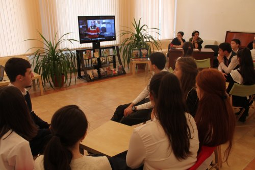 В библиотеке Хасавюрта прошел очередной этап турнира юных краеведов