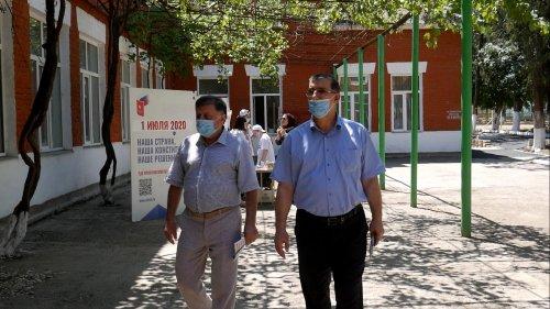 В Хасавюрте прошел общероссийский день голосования