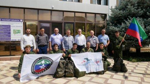 Поисковики Хасавюрта отправились в Крым