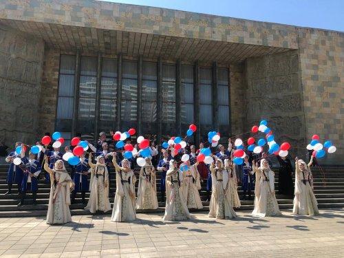Ансамбль «Эхо гор» из Хасавюрта принял участие в республиканском фестивале «Культура против террора»