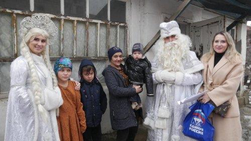 В Хасавюрте прошла благотворительная акция «Фруктовая корзина»