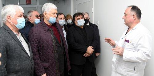 Хизри Шихсаидов с рабочей поездкой побывал в Хасавюрте
